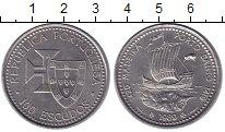 Изображение Монеты Португалия 100 эскудо 1989 Медно-никель UNC