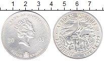 Изображение Монеты Замбия 5000 квач 2003 Серебро XF Елизавета II.  Дикая