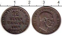 Изображение Монеты Ганновер 1/12 талера 1849 Серебро XF-
