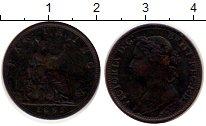 Изображение Монеты Великобритания 1 фартинг 1891 Бронза XF-