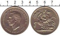 Изображение Монеты Великобритания 1 крона 1951 Медно-никель UNC- Фестиваль