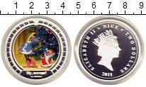 Изображение Монеты Ниуэ 2 доллара 2011 Серебро Proof `Мультфильм ``Ну пог