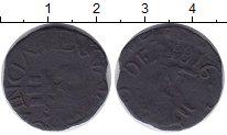 Изображение Монеты Венесуэла 1/2 реала 1816 Медь VF Провинция Гайана.Кор