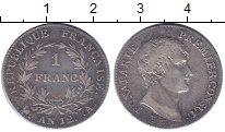 Изображение Монеты Франция 1 франк 1803 Серебро XF