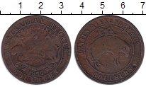 Изображение Монеты Австралия 1 пенни 1837 Медь VF