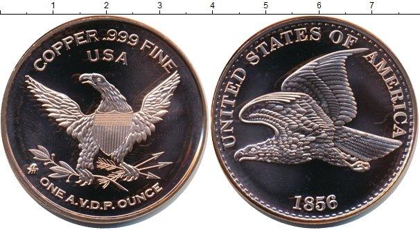 Картинка Мелочь США 1 унция Медь 0