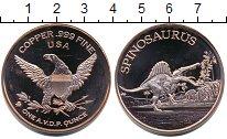 Изображение Мелочь США 1 унция 2015 Медь UNC- Спинозавр