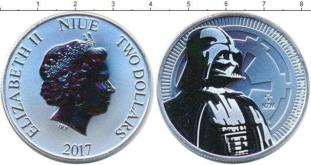 Картинка Мелочь Ниуэ 2 доллара Серебро 2017