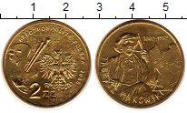 Изображение Монеты Польша 2 злотых 2005 Латунь UNC