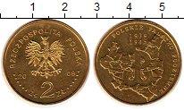 Изображение Монеты Польша 2 злотых 2009 Латунь UNC