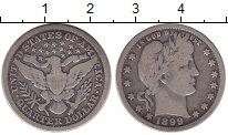 Изображение Монеты США 1/4 доллара 1899 Серебро VF