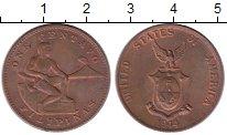 Изображение Монеты Филиппины 1 сентаво 1944 Бронза XF+
