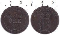 Изображение Монеты Швеция 5 эре 1907 Медь XF