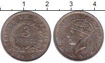 Изображение Монеты Западная Африка 3 пенса 1939 Медно-никель XF