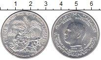 Изображение Монеты Тунис 1 динар 1970 Серебро UNC ФАО