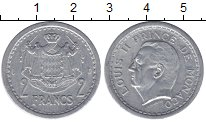 Изображение Монеты Монако 2 франка 1943 Алюминий XF