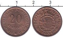 Изображение Монеты Мозамбик 20 сентаво 1961 Бронза UNC-