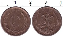 Изображение Монеты Мексика 1 сентаво 1942 Бронза XF