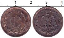 Изображение Монеты Мексика 1 сентаво 1949 Бронза XF