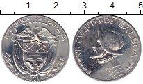 Изображение Монеты Панама 1/4 бальбоа 1971 Медно-никель UNC-