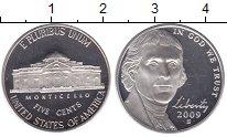 Изображение Монеты США 5 центов 2009 Медно-никель Proof-