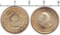 Изображение Монеты ЮАР 5 центов 1964 Серебро UNC-