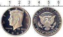Изображение Монеты США 1/2 доллара 2004 Серебро Proof S   Дж.Ф. Кеннеди