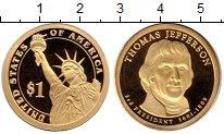 Изображение Монеты США 1 доллар 2007 Латунь Proof