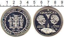 Изображение Монеты Ямайка 10 долларов 1972 Серебро UNC-