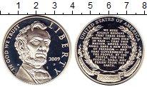 Изображение Монеты США 1 доллар 2009 Серебро Proof Авраам  Линкольн
