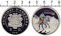 Изображение Монеты Андорра 5 динерс 2013 Серебро Proof