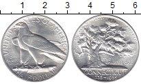 Изображение Монеты США 1/2 доллара 1935 Серебро UNC- 300  лет  Коннектику