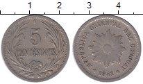 Изображение Монеты Уругвай 5 сентесим 1941 Медно-никель XF