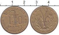Изображение Монеты Французская Африка 10 франков 1968 Латунь XF
