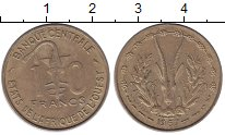 Изображение Монеты Франция Французская Африка 10 франков 1967 Латунь XF