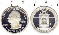 Изображение Монеты США 1/4 доллара 2010 Серебро Proof