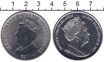 Изображение Монеты Виргинские острова 1 доллар 2017 Медно-никель UNC Елизавета II
