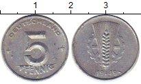 Изображение Монеты ГДР 5 пфеннигов 1949 Алюминий XF