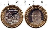 Изображение Мелочь Финляндия 5 евро 2017 Биметалл UNC Президент Урхо Кекко