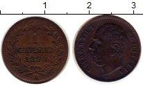 Изображение Монеты Италия 1 сентесимо 1899 Медь XF