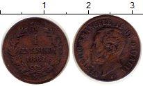 Изображение Монеты Италия 1 сентесимо 1862 Медь XF