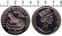 Изображение Монеты Остров Мэн 1 крона 1995 Медно-никель UNC