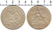 Изображение Монеты Мексика 1 песо 1910 Серебро XF Свобода