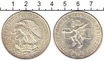 Изображение Монеты Мексика 25 песо 1968 Серебро XF Олимпиада 68