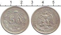 Изображение Монеты Мексика 50 сентаво 1919 Серебро XF