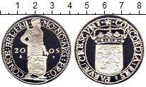 Изображение Монеты Нидерланды 1 дукат 2005 Серебро Proof
