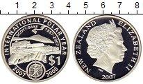 Изображение Монеты Новая Зеландия 1 доллар 2007 Серебро Proof