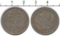 Изображение Монеты Сан-Томе и Принсипи 20 сентаво 1929 Медно-никель VF Колония  Португалии