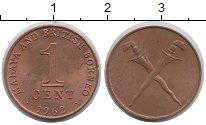 Изображение Монеты Малайя 1 цент 1962 Медь XF