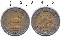Изображение Монеты Уганда 1000 шиллингов 2012 Биметалл XF